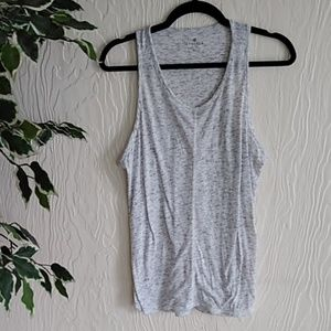 Athleta light Heather grey extra large tank top